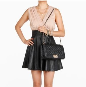 💞1time offer only Leather dress